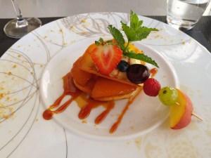Dessert du restaurant la Dinée du Viguier