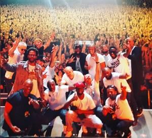 Le groupe IAM lors du concert l'ecole du micro d'argent le 24 novembre 2017