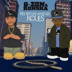 Pochette single G-Zon et Ronsha des bâtons dans les roues