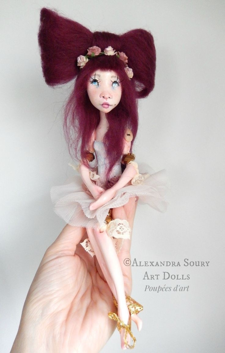 Alexandra Soury poupées