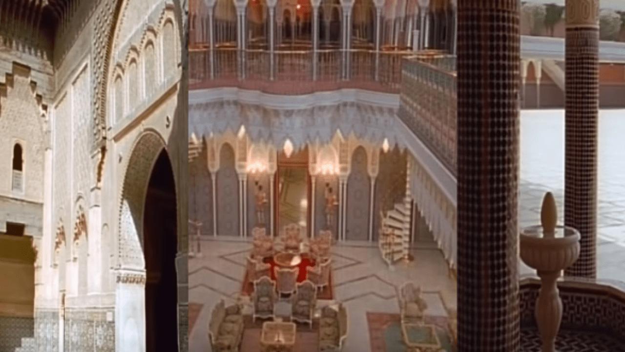 Decouvrez Le Palais Royal De Marrakech Filme Par Une Chaine