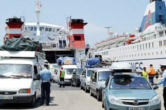 Tanger-Med: une voiture immatriculée en Allemagne se fait choper