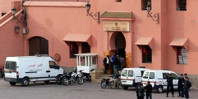 La police de Marrakech tend une embuscade à des criminels