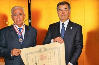 Abdellatif Guerraoui, un Marocain décoré au Japon