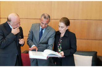 BNRM: Abdelilah Tahani reçoit la directrice chilienne des affaires culturelles
