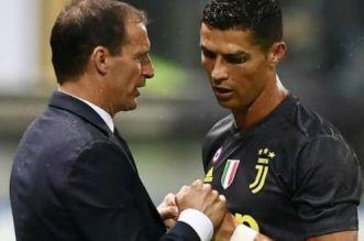 Juventus: Allegri s'exprime sur l'avenir de Cristiano Ronaldo