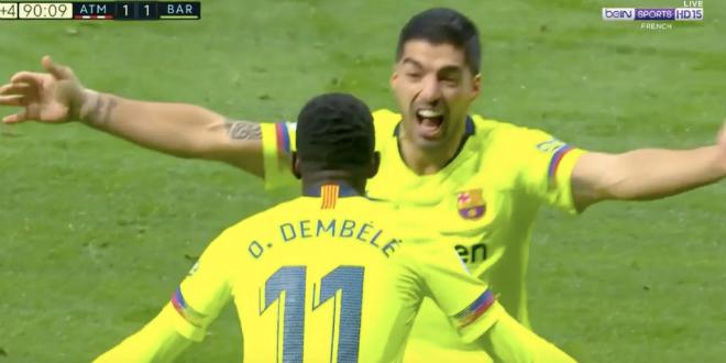 Dembélé revient et Valverde prend sa défense — Barça