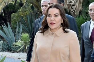 La princesse Lalla Hasnaa était à Bouknadel