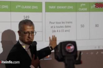 Les tarifs du TGV expliqués par le DG de l'ONCF (VIDEO)