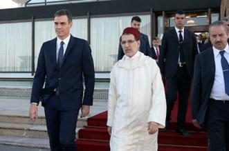 Pedro Sanchez a quitté le Maroc
