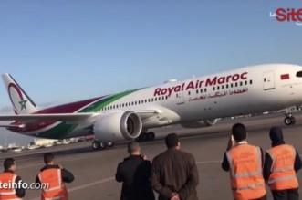 VIDEO – L'arrivée du nouveau Boeing de la RAM à Casablanca
