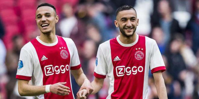 Hakim Ziyech impressionne encore avec l'Ajax (VIDEO)