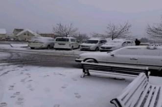 Il a neigé à Ifrane (PHOTOS et VIDEOS)
