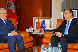 Abdeltif Loudiyi reçoit le Secrétaire général adjoint de l'OTAN