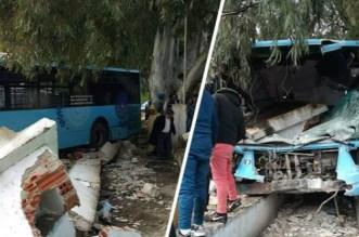 Accident de bus à Tanger: plus de peur que de mal