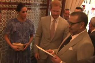 La cérémonie de thé offerte en l'honneur du prince Harry et de son épouse (VIDEO)