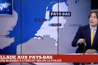 Pays-Bas: fusillade à Utrecht, ce que l'on sait (VIDEO)
