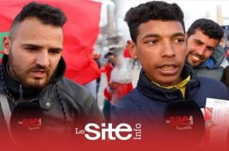 """Maroc-Argentine: """"on n'est pas là pour Messi!"""" (VIDEO)"""