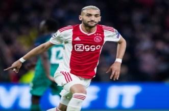 L'Ajax de Ziyech prend la tête du Championnat des Pays-Bas