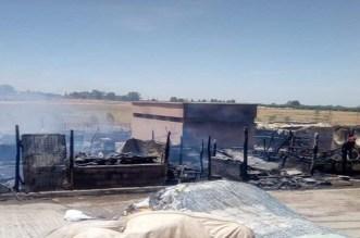 Marrakech: un marché ravagé par un incendie