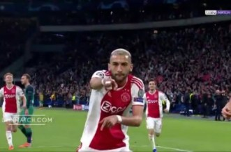 Superbe but de Hakim Ziyech contre Tottenham (VIDEO)