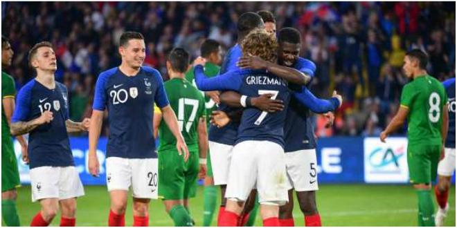 Élim. Euro 2020: mauvaise nouvelle pour les Bleus