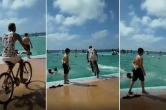 Rabat: une vidéo filmée dans la piscine municipale enflamme la Toile