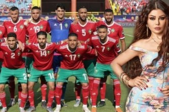 CAN 2019: Haifa Wehbe est fan des Lions de l'Atlas