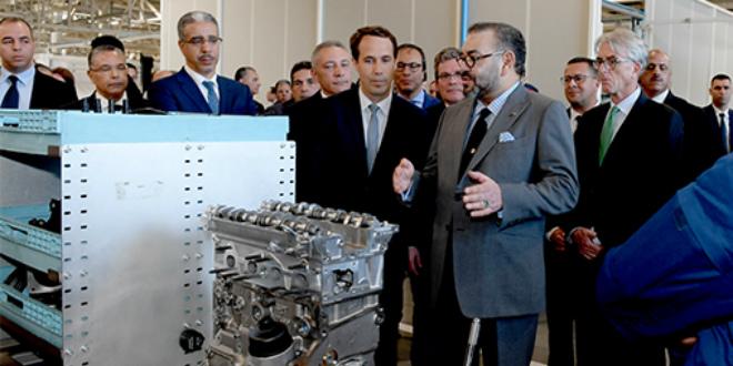 Zoom sur l'usine PSA inaugurée jeudi par le roi Mohammed VI (VIDEO)