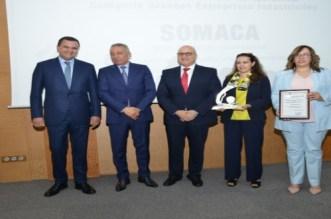 La Somaca reçoit le Prix National de la Qualité