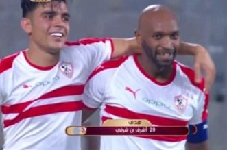 Achraf Bencharki frappe fort avec Zamalek (VIDEO)