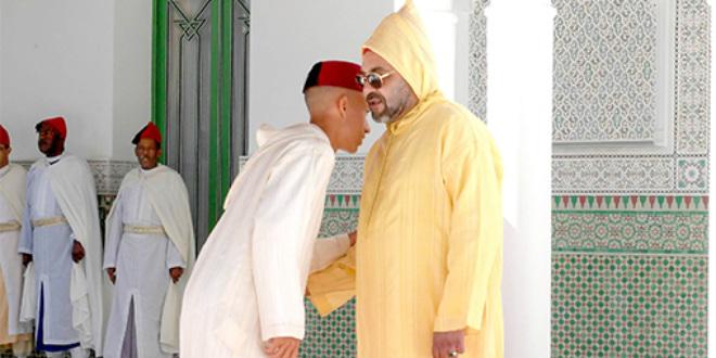 Photo du jour: Le roi reçoit les vœux du prince Moulay El Hassan