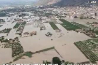 Inondations du sud-est de l'Espagne : le bilan s'alourdit