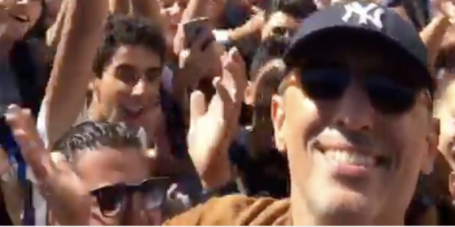 Casablanca: Gad Elmaleh en direct du lycée Lyautey ! (VIDEO)