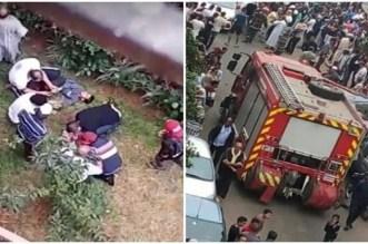Enfants jetés d'un toit à Casa: les dernières nouvelles des victimes