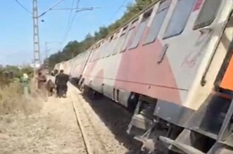Déraillement d'un train à Bouskoura: l'ONCF a fait une annonce