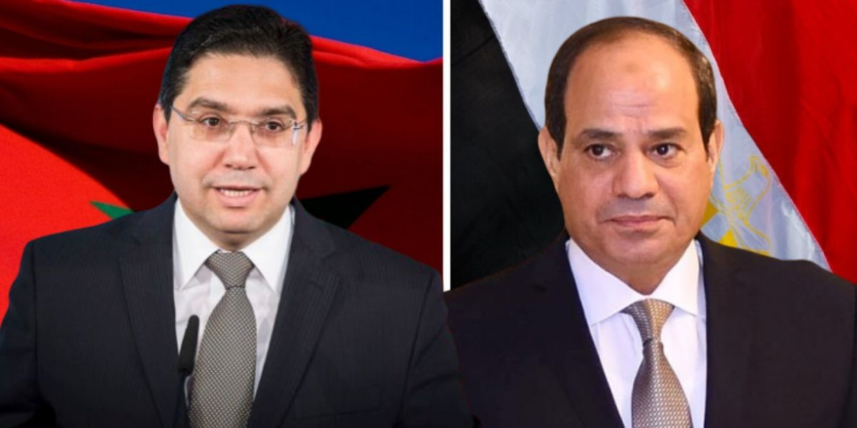 Pourquoi Nasser Bourita a été reçu par le président Al-Sissi
