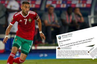 Maroc-Mauritanie: les supporters font entendre leur colère (VIDEO)