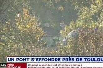 Effondrement d'un pont près de Toulouse: un deuxième corps retrouvé