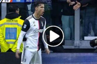Encore un doublé pour Ronaldo avec la Juve! (VIDEO)