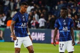 PSG: Kimpembe et Gueye forfaits contre Galatasaray