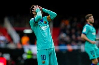 Liga: 13 ans après, le Barça tombe face à Valence (VIDEO)