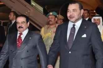 Rencontre entre Mohammed VI et le roi de Bahreïn à Rabat