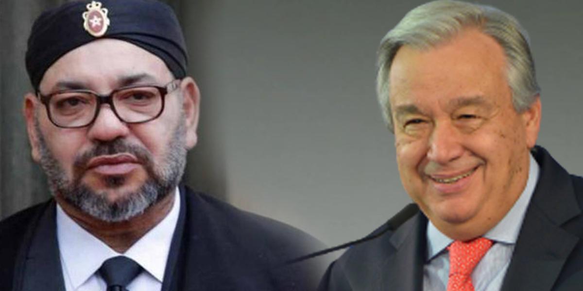 Le chef de l'ONU a écrit au roi Mohammed VI