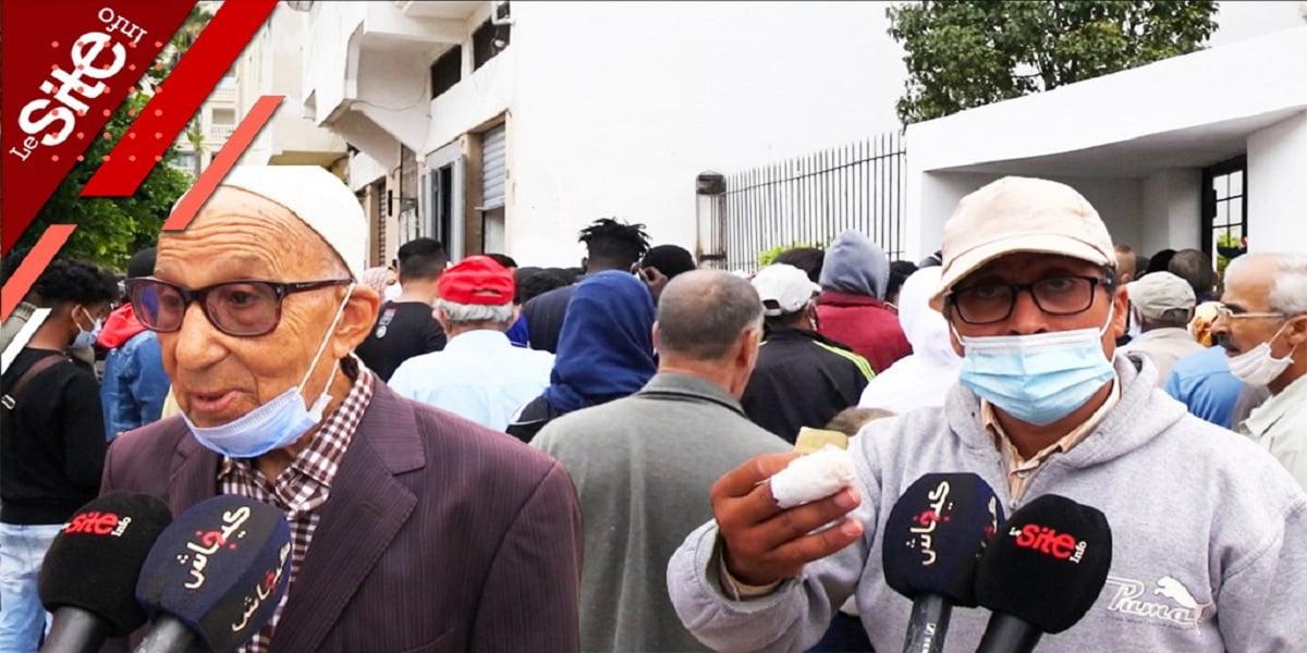 Casablanca: affluence monstre et colère devant un vaccinodrome (VIDEO)