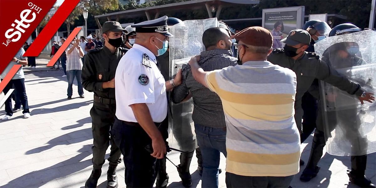 Maroc: les anti-pass vaccinal descendent dans la rue