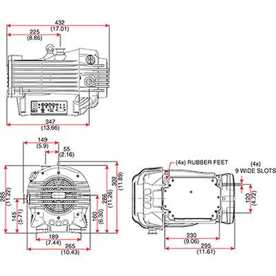 7 Cfm Vacuum Pump Yellow Jacket SuperEvac Pump Wiring