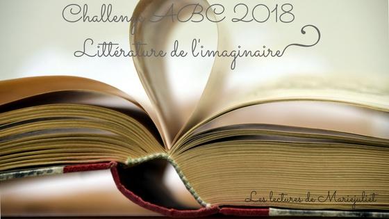 Challenge ABC Littérature de l'imaginaire 2018 : inscription et suivi personnel