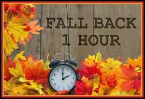 It's Time to Fall Back