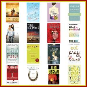 Books I read in 2018